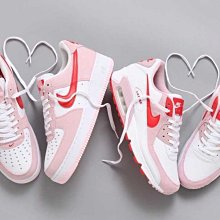 """【BS】NIKE AIR FORCE 1 '07 """"VALENTINE'S DAY"""" MAX 90 情人節限定"""