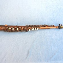 Easy Sax.紅銅特仕款小高音薩克斯風:搭配K-1黑金剛吹嘴,整體音色不輸專業級高音薩克斯風
