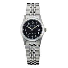 可議價 ORIENT東方錶 女 鋼帶復古風 石英腕錶 (FSZ46006B) 26mm