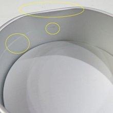 【福利品】三能 8吋 活動底圓形蛋糕 戚風蛋糕模~MJ的窩~