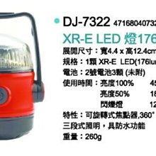 *大營家燈具爐具* XR-E Cree LED燈-176Lumens 7322 登山露營自行車用品