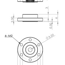MKS 圓型金屬擺臂HBL960~990/665/669.HV777伺服機適用 [O0002025-4]