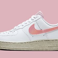 Nike Air Force 1 07 白粉 百搭 厚底 低幫 滑板鞋 CV3030-100 女鞋 潮
