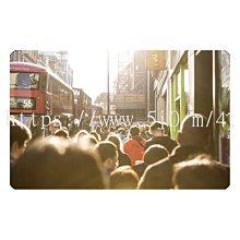 〈亮晶細沙 卡貼 貼紙〉英國 倫敦街頭  貼紙 悠遊卡貼紙