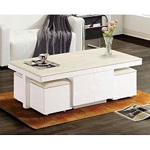 KIPO-AUSTIN石面白色大茶几/咖啡桌/置物桌/收納茶几/邊桌_Zs2K