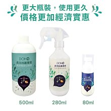來來相機 DOHO 奈米鋅離子長效抗菌噴霧 純水性 安全抗菌 280ml-贈噴頭