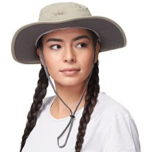 滿3000免運TheNorthFace雙和專賣店OR女抗UV中盤帽SolarRollerSunHat 243442 卡其