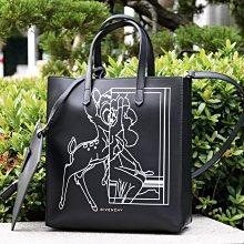 Givenchy 紀梵希 Stargate printed leather tote 小型小鹿斑比托特包 黑 現貨