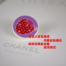 ╭☆優買二手精品名牌店☆╯CHANEL 專利 樹脂 草莓 水果系列 別針 胸針『新品同樣』II
