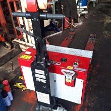 中古電動油壓拖板車/棧板車/升降機