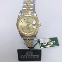 可議價 ORIENT東方錶 女 半金簡約時尚 石英腕錶 (SE73X37S)