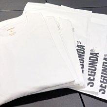 【希望商店】SEGUNDA BASIC T-SHIRT 21SS 寬鬆 純色 三件裝 短袖T恤