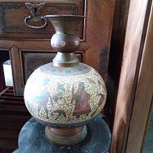 *阿柱的店*老銅器 花瓶