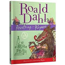 收納用品 英文原版小說 反叛的童謠 Revolting Rhymes 羅爾德達爾 Roald Dahl 動畫短片同名原著兒童英文繪@16257