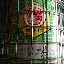 點焊鋼絲網 點焊網 10# 孔徑1  4尺寬 全長50尺 1英吋孔 鍍鋅網 鐵網  圍籬_粗俗俗五金大賣場