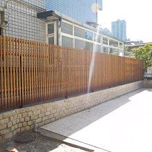 戶外。實木。圍籬、木格柵、 南方松、庭院、籬笆、圍牆