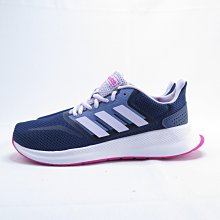 ADIDAS RUNFALCON K 慢跑鞋 大童 / 女款 EG2540 深藍【iSport愛運動】