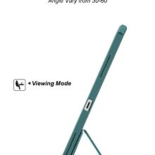 Apple iPad 8 代 10.2 A2270 A2428 訊迪XUNDD甲殼蟲夢幻系列 四角耐衝擊三折透明側掀套