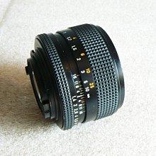 【悠悠山河】收藏級 Contax Carl Zeiss T* Planar 50mm F1.4 AEJ 玻璃透亮無霉無霧