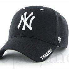 現貨在台灣 47 BRAND NEW YORK YANKEES 美國大聯盟職棒洋基隊黑色 棒球帽 鴨舌帽 帽子