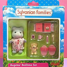 【Mika】森林家族 水滴熊晚安組(盒損)*現貨 Bedtime Sylvanian Families