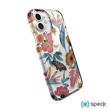 Speck iPhone 12 / 12 Pro (6.1吋) 透明抗菌彩印防摔殼 熱帶花卉 喵之隅