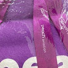 日本 樂桃航空 PEACH aviation 機上毛毯 全新未使用 已絕版