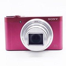 【台中青蘋果】Sony Cyber-Shot WX500 粉 二手 1820萬畫素 數位相機 公司貨 #62179