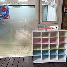 【承鑫家具】南亞塑鋼系列 尺寸皆可手工訂製 來電0422229000 20格開放式鞋櫃 塑鋼兒童鞋櫃 學校鞋櫃