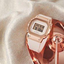 最佳禮物 CASIO卡西歐 G-SHOCK 金屬時尚 玫瑰金x白 GM-S5600PG-4 新顏色