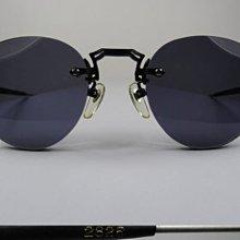 信義計劃 眼鏡 Matsuda 2825 松田 太陽眼鏡 日本製 復古 金屬 圓框 無框 sunglasses