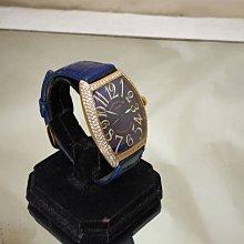 順利當舖  Franck Muller/法蘭克穆勒 原裝18K金6850酒桶型華麗鑽石錶款