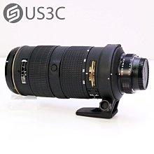 【US3C-小南門店】尼康 Nikon AF-S 80-200mm F2.8 D ED 小黑四 小黑4 望遠變焦鏡 大光圈 附原廠保護鏡