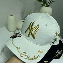NY紐約洋基隊棒球帽運動帽休閒帽(男女通用)淺粉紅黑色可選(MLB韓國上市真品情侶款)