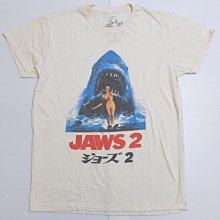 【Mr.17】JAWS 2 大白鯊 2 神出鬼沒 刷舊復古電影T恤 短袖T-SHIRT(WR005)