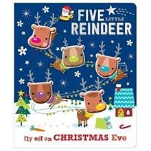 全新 現貨 Five Little Reindeer 軟矽膠 豆豆書 數數書