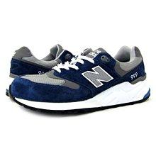 老夫子 New Balance ML999NV 藍休閒運動慢跑鞋男女