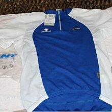 全新Giant藍白色短袖車衣,自行車車衣,Nalini 自行車車衣 L,單車衣 L,男款自行車衣