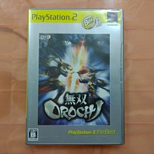 PS2 無雙Orochi 蛇魔 純日版 全新未拆 (編號AAA)