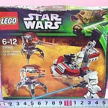 Mika】LEGO 樂高 STAR WARS 75000 複製人戰隊 克隆兵 毀滅者 星際大戰 (盒損*現貨 Clone