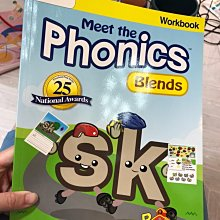 全新 meet the phonics blends 小朋友 英文學習書 EEE