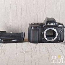 【品光數位】NIKON F90X+ 日期機背 MF26 + MB-10 單機身 自動對焦 #102124