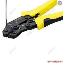 Meterk Professional 4 合 1 電線壓接器工程棘輪端子壓接鉗 Bootlace 套【旋風五金】