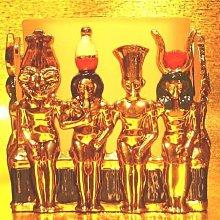 居家藝術 [ Vero 設計作品 合金鍍金-埃及諸神 燭臺 容器 ]-Egypt埃及古文明.@$680【預訂品】