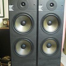 (老高音箱) 英國 KEF K160 落地喇叭一對 八吋深盆單體 低頻勝過KEF C40