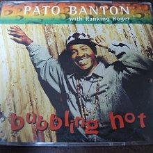 MWM◎【二手CD】Pato Banton with Ranking Roger-Bubbling Hot 單曲 英版
