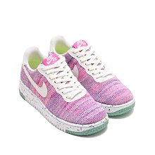 =CodE= NIKE AIR FORCE 1 CRATER FLYKNIT 環保材質籃球鞋(粉紅)DC7273-500