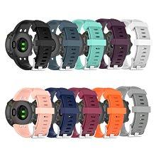 預購款-適用佳明forerunner 45智能手錶透氣硅膠錶帶45S替換錶帶保護套男