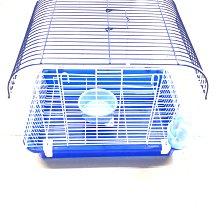 中兔籠(附飲水器、食盆)多功能寵物籠-中/外出籠/鳥籠/兔籠/鼠籠-中小型鸚鵡,雀科,野鳥,迷您兔,幼兔,蜜袋鼯,松鼠
