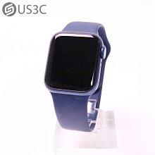 【US3C-台中店】Apple Watch Series 6 GPS 40MM 藍色 鋁金屬錶殼 藍色運動錶帶 原廠保固內